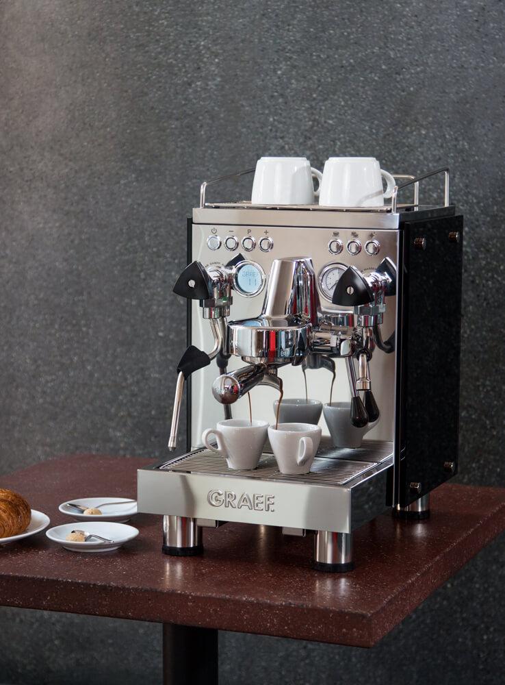 Graef Siebträgermaschine Espressomaschine
