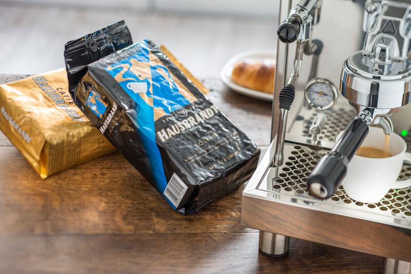 Hausbrandt Kaffee Kaffeebohnen für Siebträgermaschine