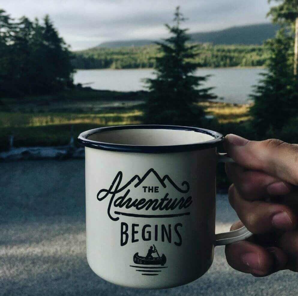Kaffee auf einer Handpresso Kaffeemaschine