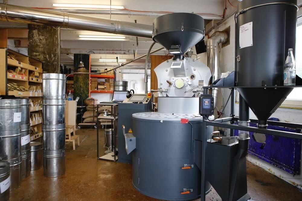Röstung Heilandt Kaffeemanufaktur