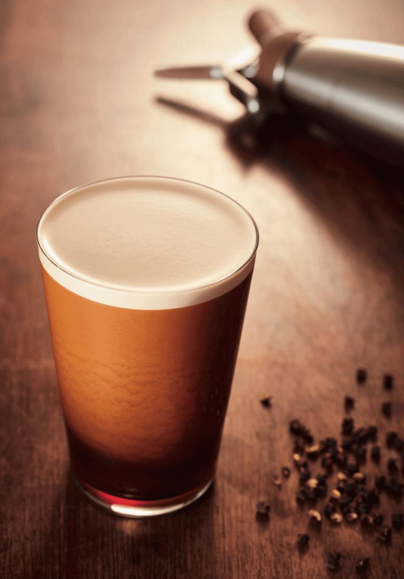 iSi Nitro Kaffee Cold Brew im Glas