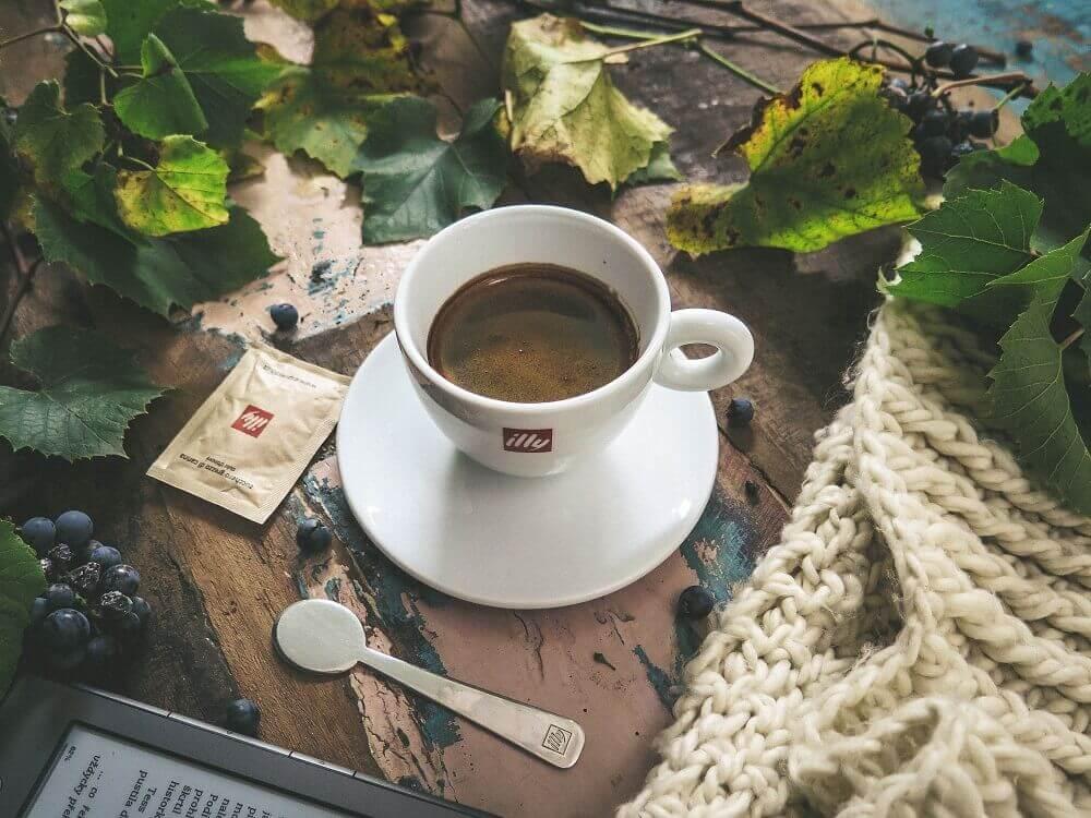 Tasse von Illy Kaffee
