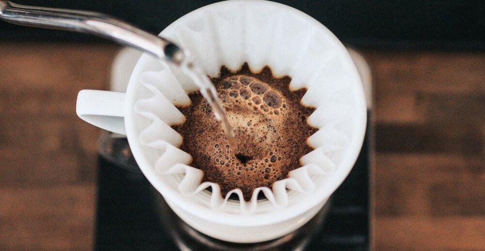 kaffee in filterkaffee