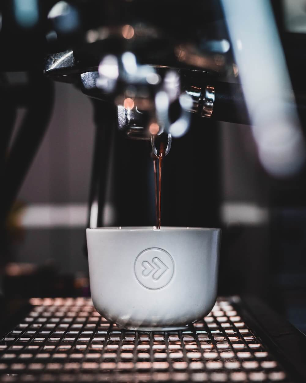 Frischer Mauro Kaffee in Tasse
