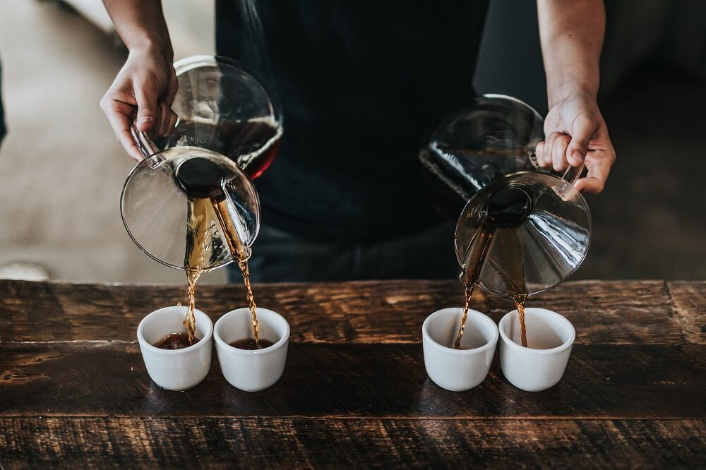 Kaffee Zubereitung Vergleich