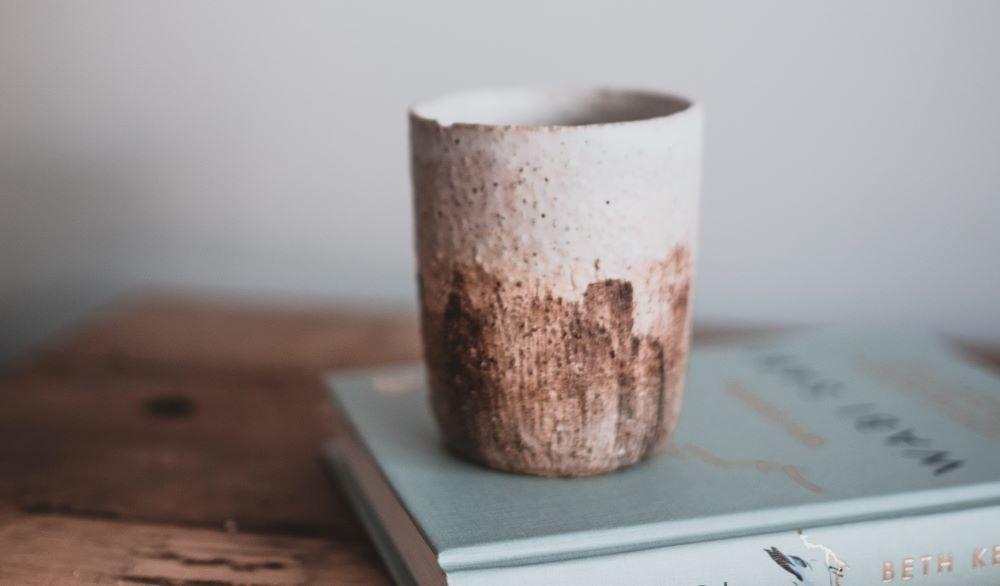 Kaffeetasse aus Steinzeug