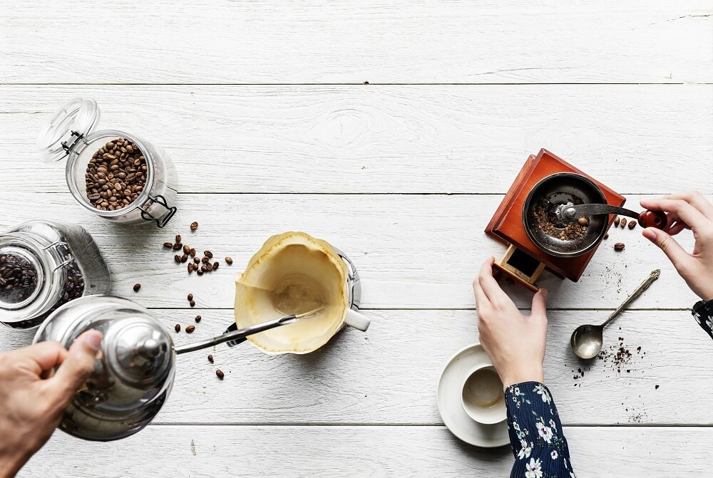 Vielfältiges Kaffeezubehör