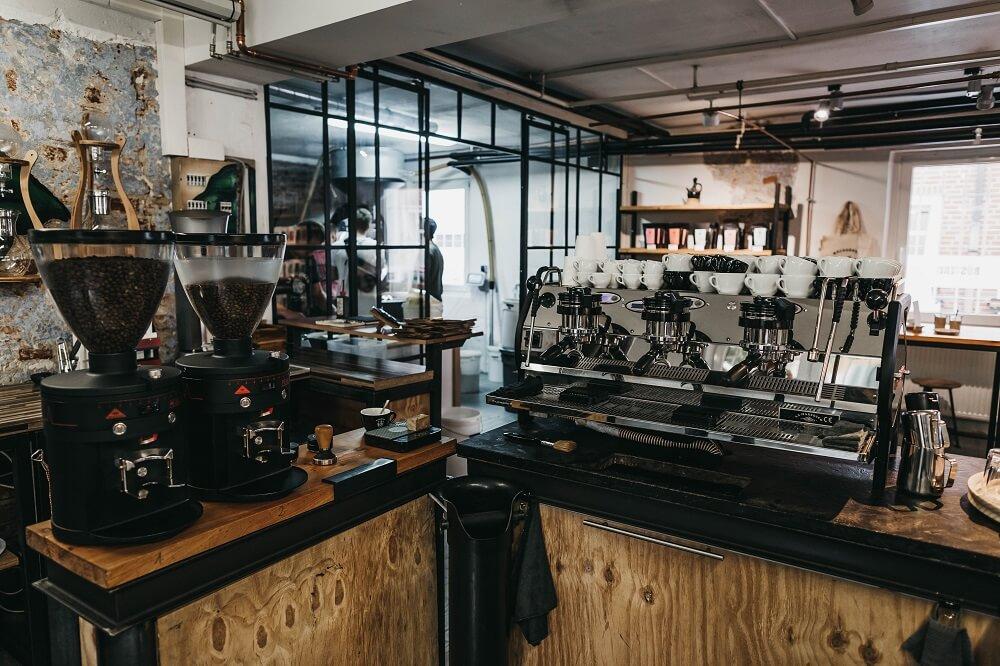 Machhörndl Café mit angeschlossener Rösterei