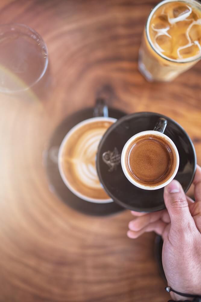 Maria Sole Espresso genießen