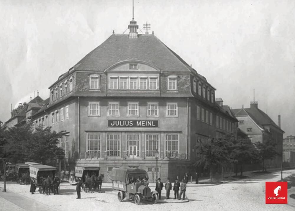 Julius Meinl Hauptgebäude in Wien