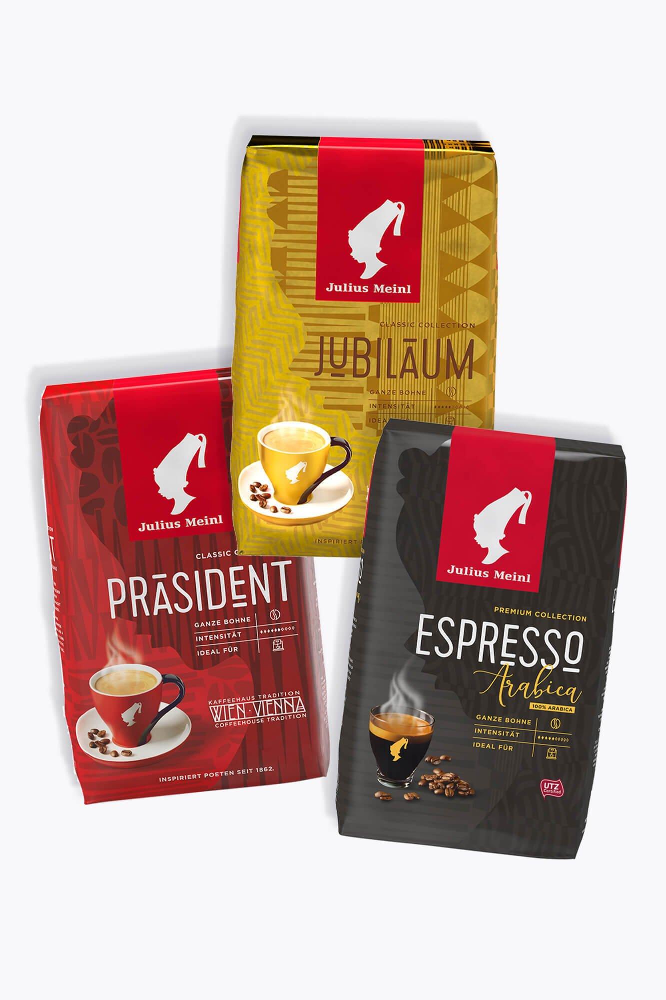 Probierpaket Julius Meinl Kaffee