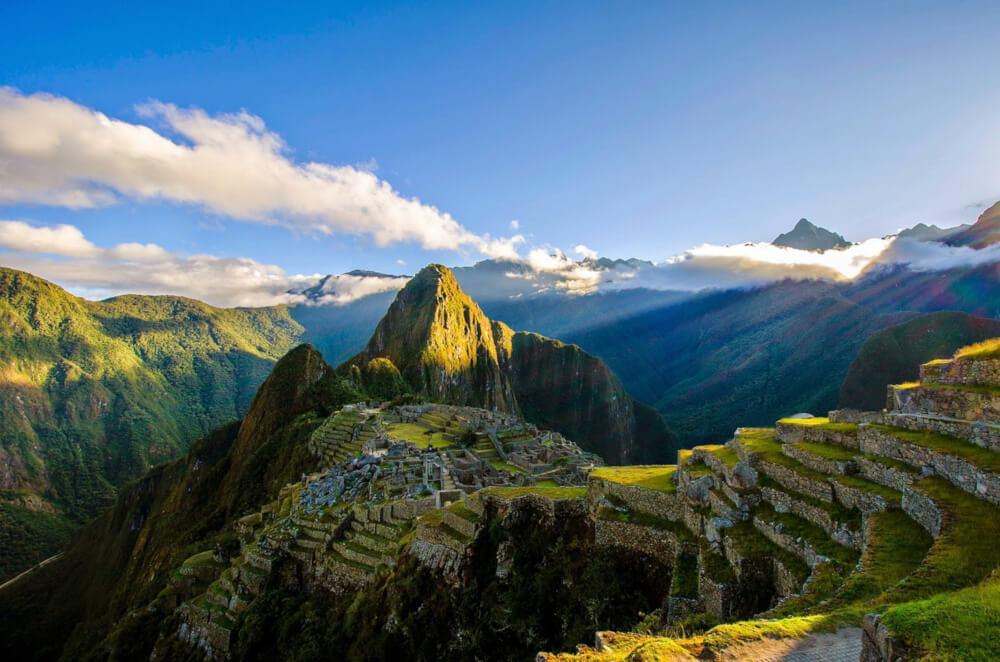 Peru Machu Picchu Landschaft