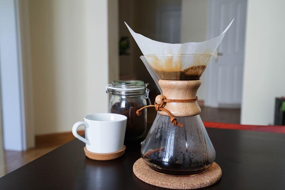 Chemex-Karaffe für Filterkaffee