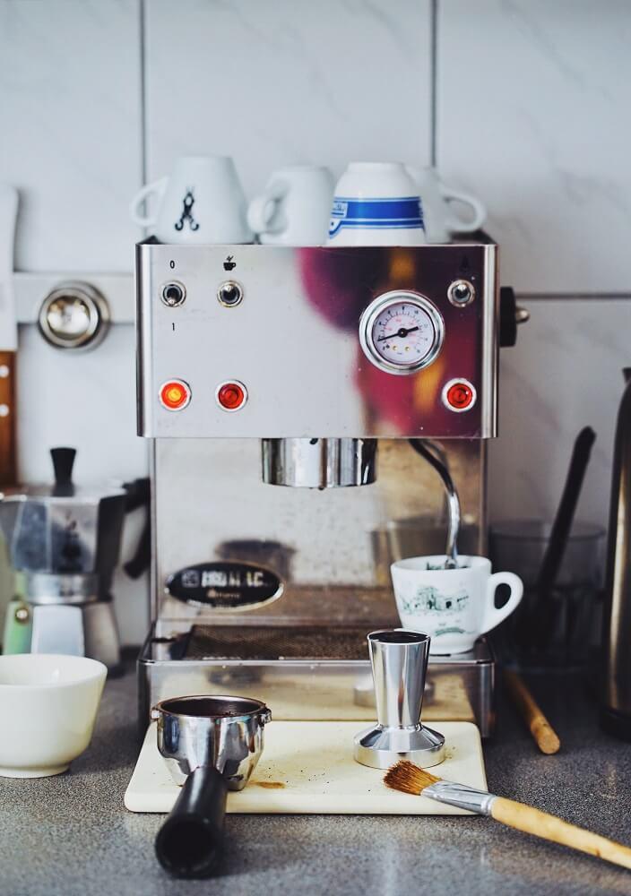 Zubehör für Espressomaschinen mit Siebträger