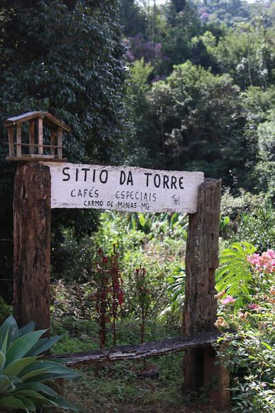 Supremo Kaffee Sitio da Torre Anbaugebiet