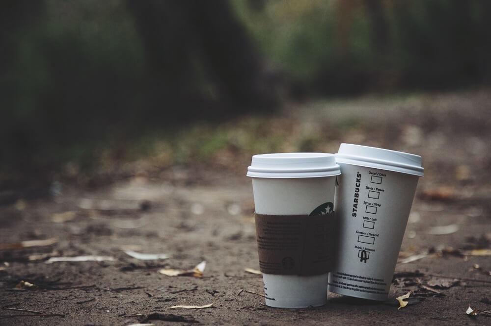 Coffee-to-go-Becher Starbucks