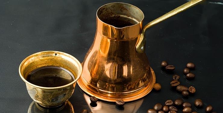 Metall Kaffeegeschirr