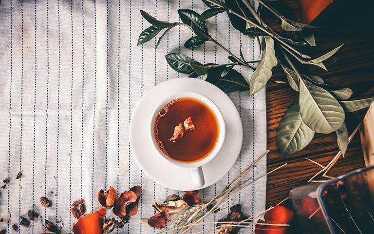 Rooibos Tee in einer Tasse