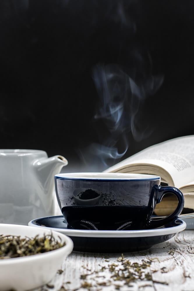 Köstlicher Tee in der Tasse