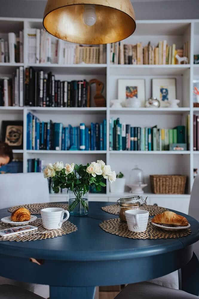 Gedeckter Tisch Kaffeeservice