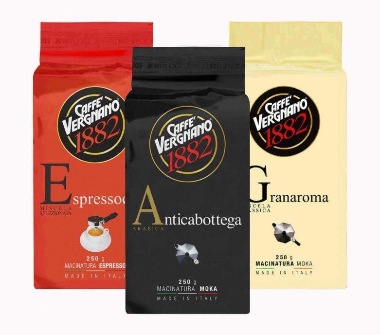 Caffe Vergnano Probierpaket