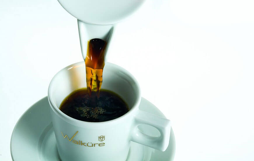 Walküre Tasse Kaffee