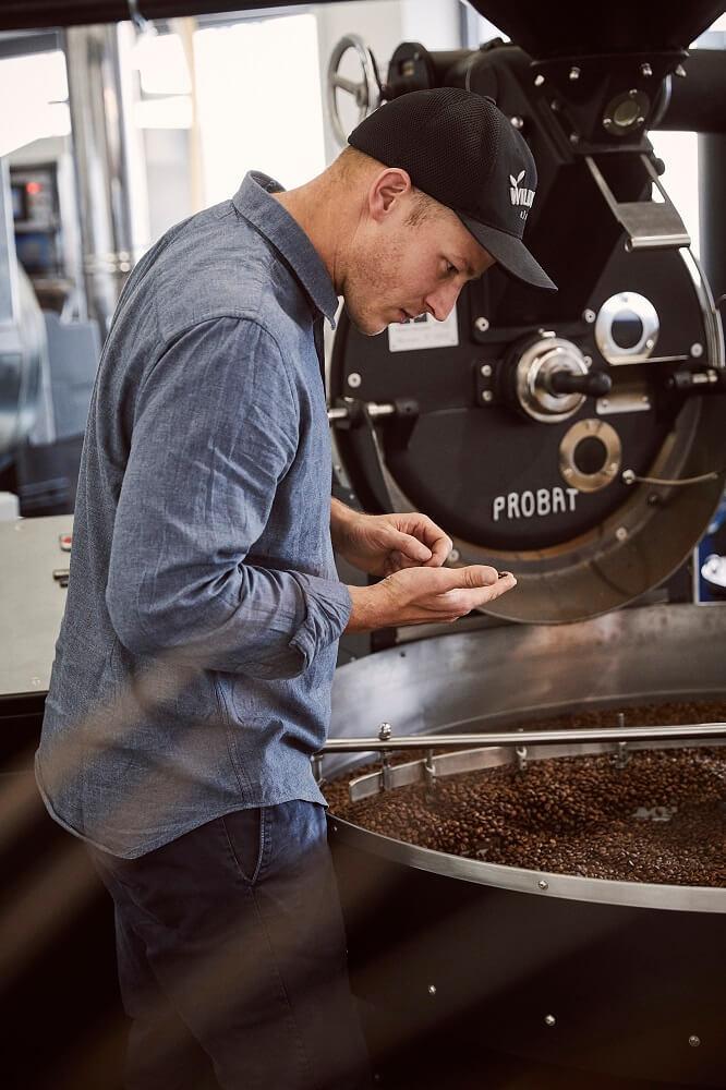 Wildkaffee Rösterei Qualitätskontrolle