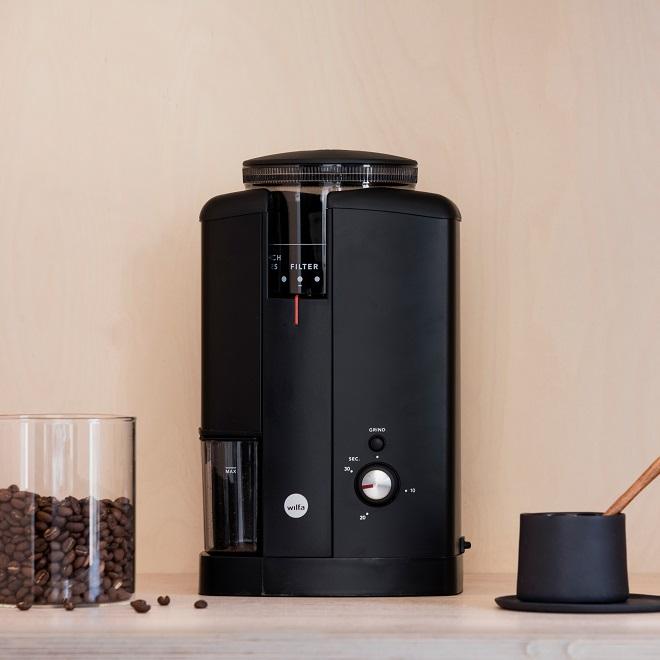 Wilfa Kaffeemühle SVART AROMA Schwarz