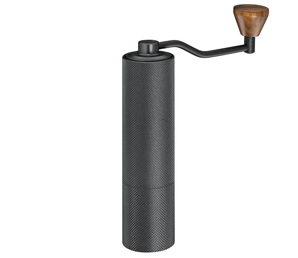 Zassenhaus Espressomühle Barista Pro Graphite Black