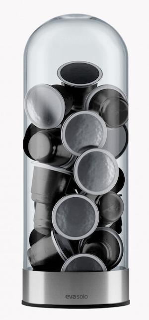 Eva Solo Kaffeekapselspender mit Kaffeekapseln