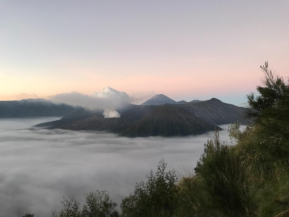 Vulkangebirge und Anbaugebiet des Geisha Kaffee in Panama