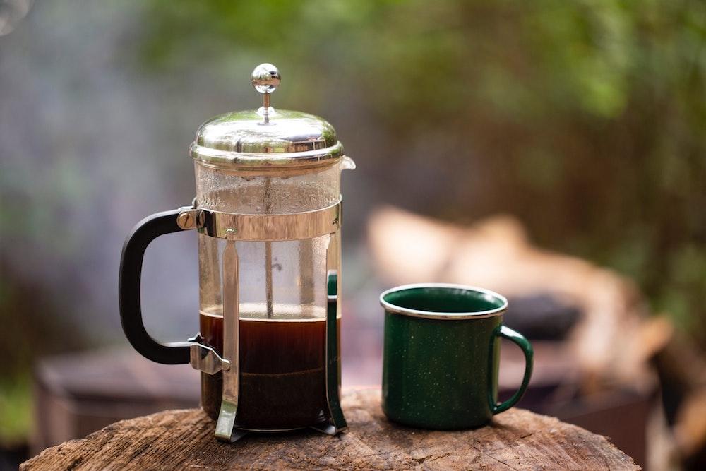 Kaffeezubereitung im Urlaub mit der French Press