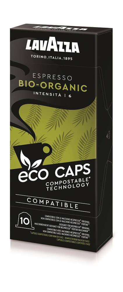 Ökologische Kaffeekapseln von Lavazza
