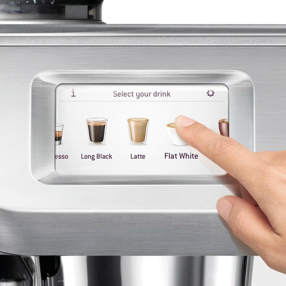 Sage the Oracle Touch Siebträgermaschine Touch-Display